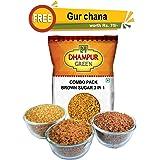 Dhampur Green Demerara, Muscovado, Coffee Crystal Offer, 750g (Free Gur Chana150g)