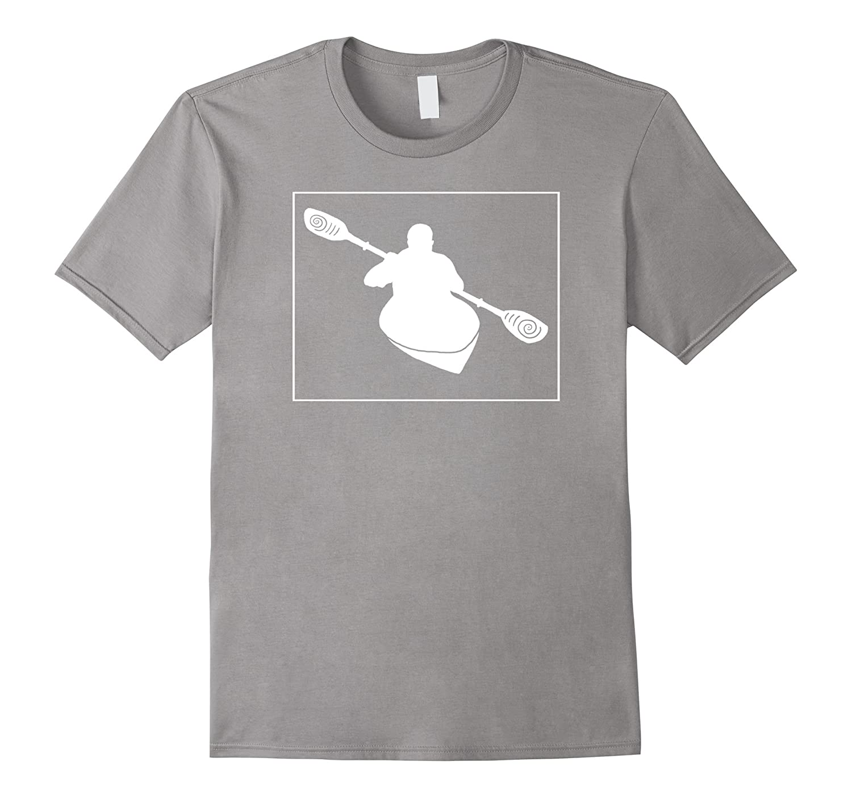 Cool Kayaking T Shirt-Outdoor Mountain Fun-Camping Life Tee