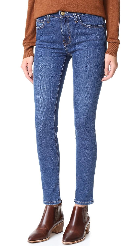 Current/Elliott Women's High Waist Ankle Skinny Jeans