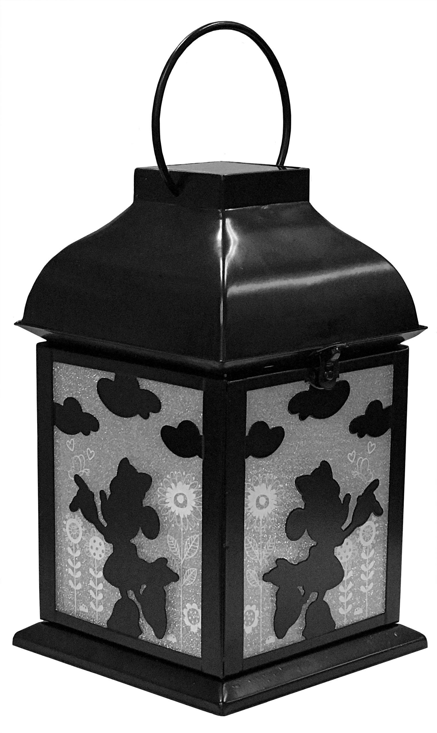 Design International Group Disney Minnie Solar, Metal Garden Lantern (LDG87926)