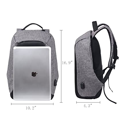 Amazon.com: Anti-Theft Backpacks 15inch Laptop Smart Backpacks for Teenager Fashion Mochila Leisure Travel Backpack Lightweight School Bookbags with USB ...
