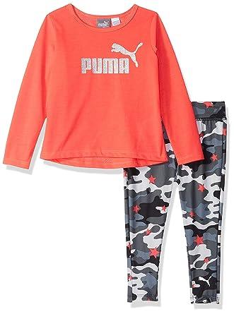 c599bcfc335f92 Amazon.com  PUMA Baby Girls  Top and Legging Set  Clothing