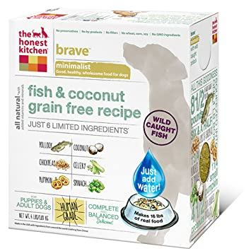 The Honest Kitchen Brave Grain Free Dog Food Dehydrated - Honest kitchen dog food