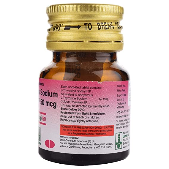 Thyroup 50 Bottle Of 120 Tablets Amazon In
