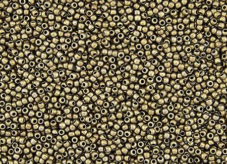 10 Grams Japanese Seed Beads 110 TOHO #223 ANTIQUE BRONZE Seed Beads 50 Grams 25 Grams