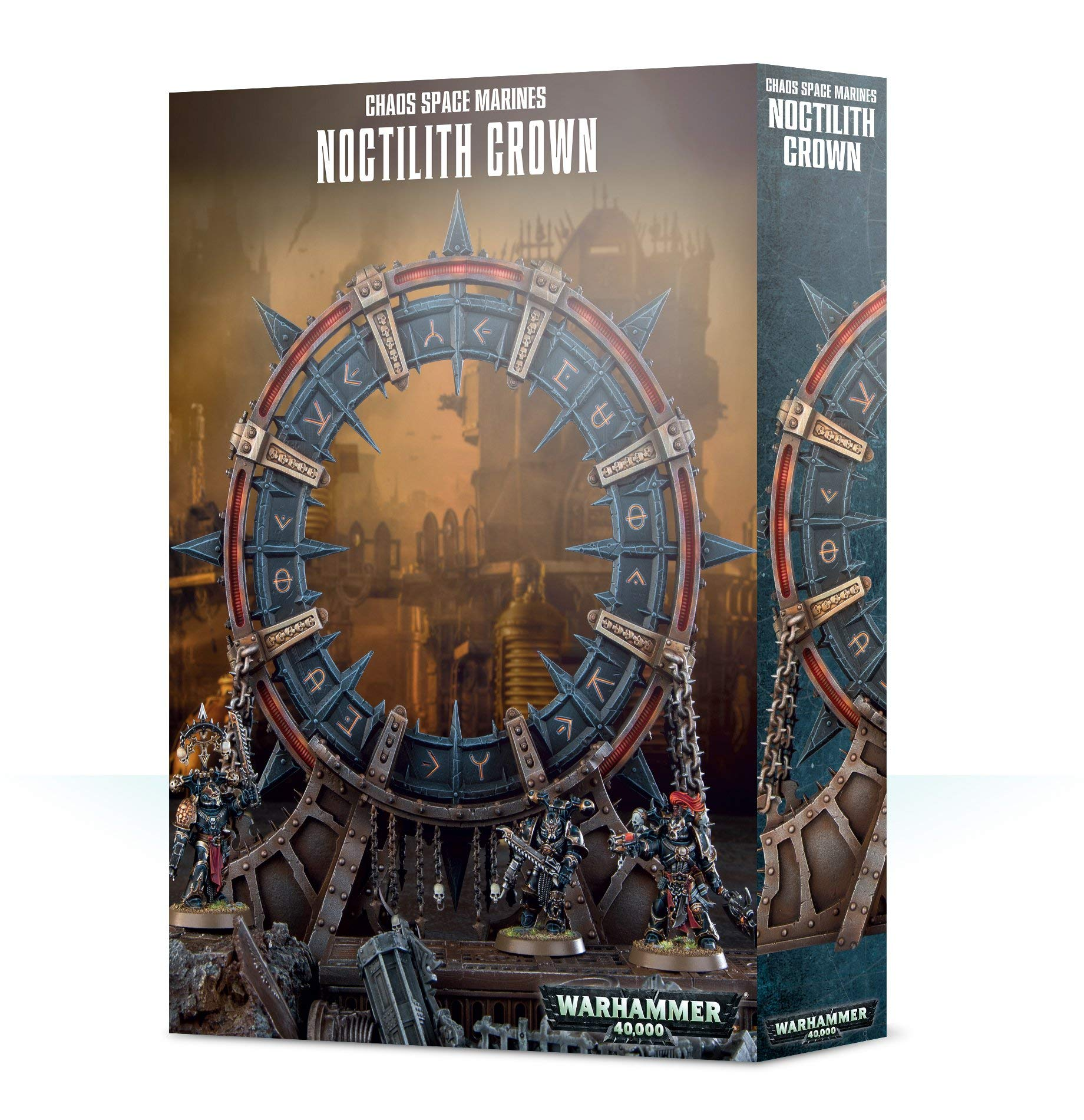 Games Workshop: Warhammer 40,000: Chaos Space Marines Noctilith Crown