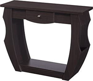 Furniture of America Reeves Contemporary Console Table, Walnut
