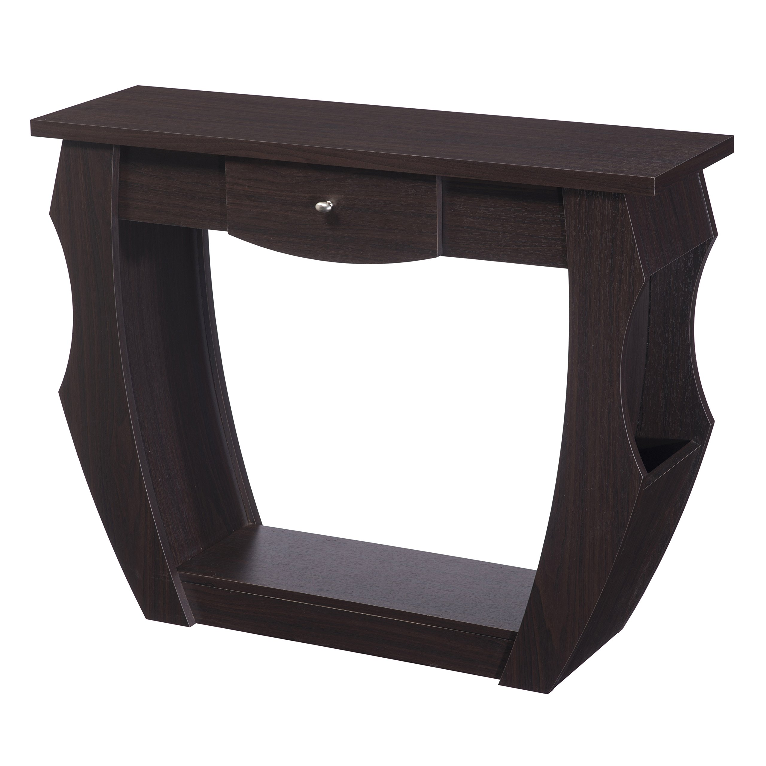 HOMES: Inside + Out ioHOMES Reeves Contemporary Console Table, Walnut