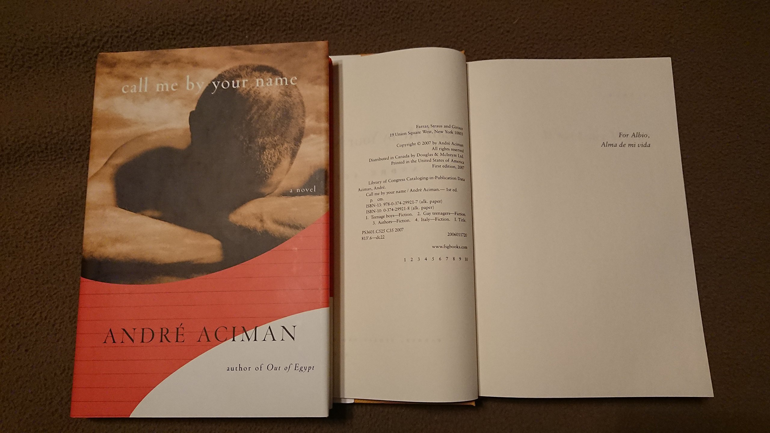 Call Me By Your Name Amazonde Andre Aciman Bücher