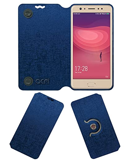 reputable site accc0 c5559 Acm Designer Rotating Flip Case for Coolpad Note 6 Mobile Stand Cover Blue