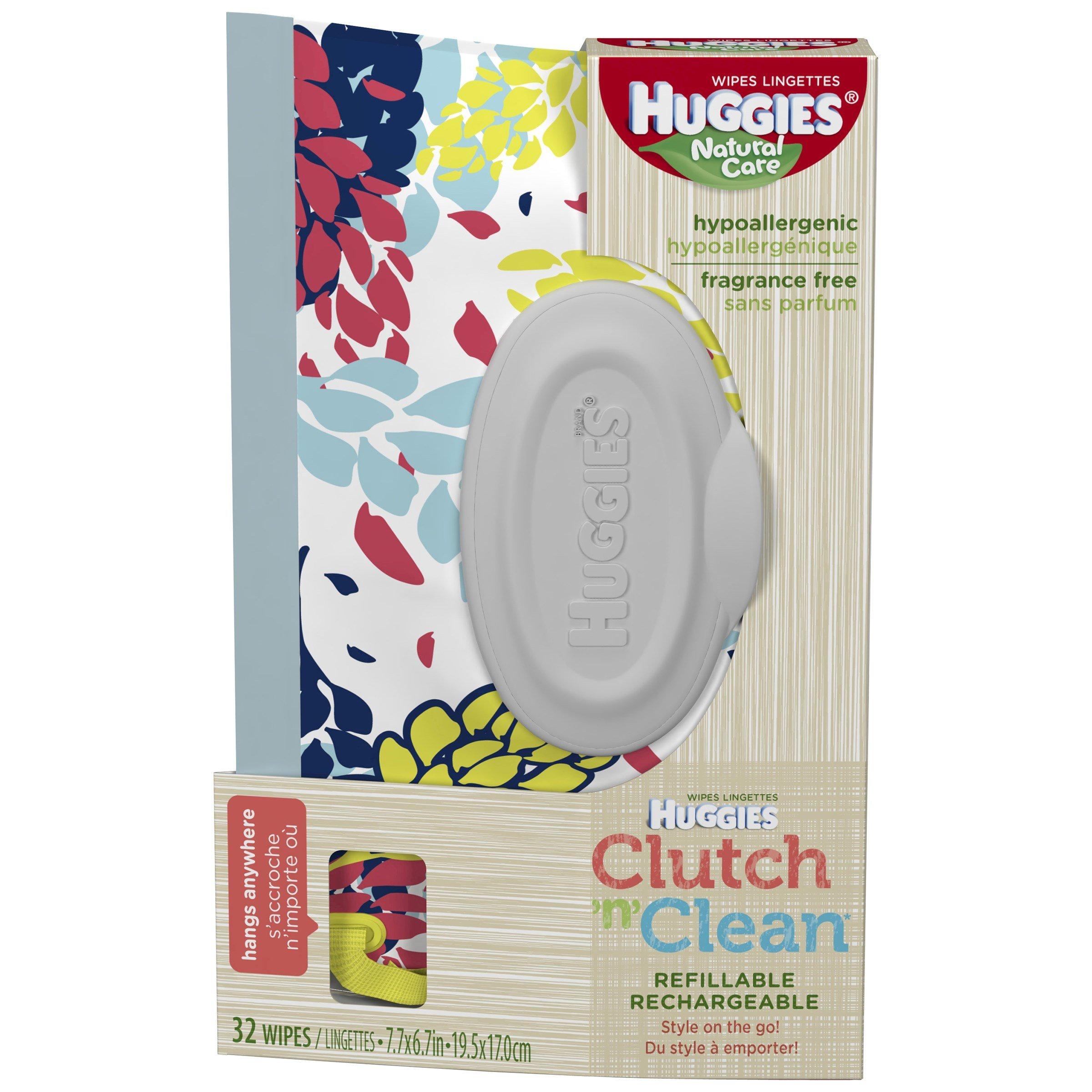 Huggies Baby Wipes 32 CT (Pack of 18)