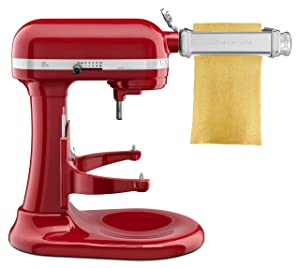 KitchenAid KSMPSA Pasta Roller Attachment 1' Silver