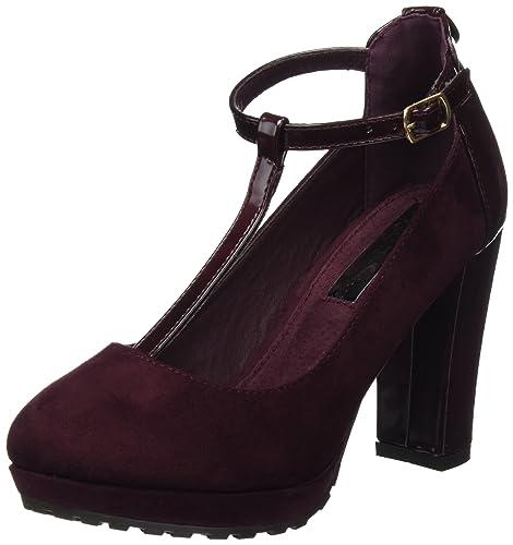 XTI Donna 030479 con Cinturino alla Caviglia Rosso Size 41 EU Scarpe