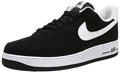 sale retailer e3752 f1d40 NIKE Men s Air Force 1 07, Black Black, ...
