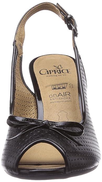 Nero Caprice Amazon 28301 black001 Sandali Donna schwarz 40 1awtUaqxr
