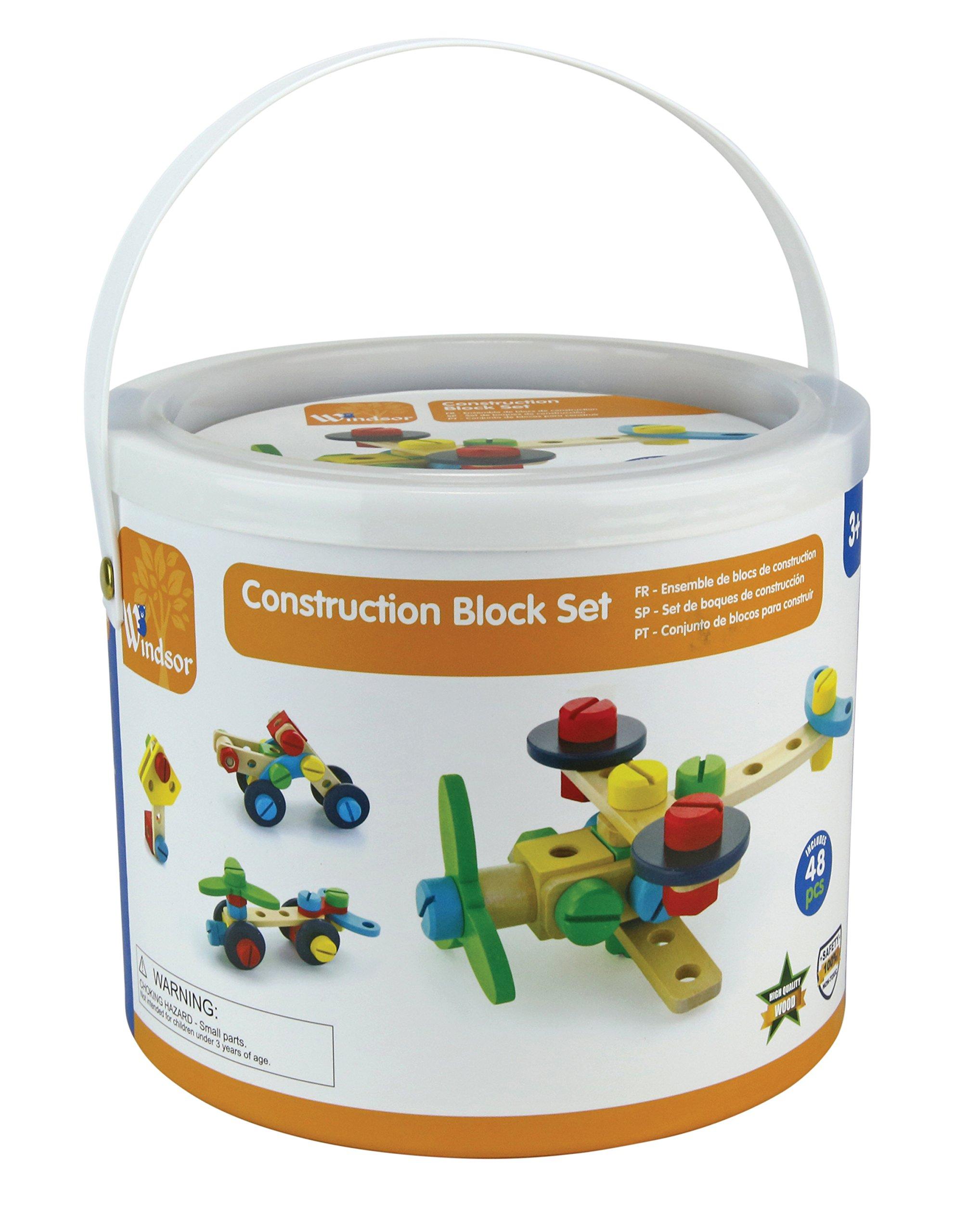Windsor 48 Pieces Construction Block Set