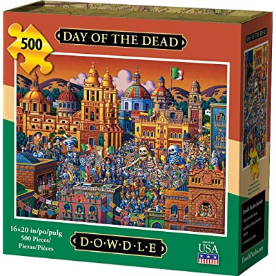 Dowdle Jigsaw Puzzle - Day of The Dead - 500 Piece: Toys & Games [5Bkhe1902360]