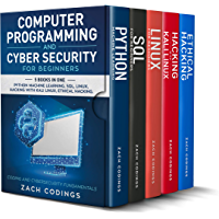 Computer Programming And Cyber Security for Beginners: This Book Includes: Python Machine Learning, SQL, Linux, Hacking…