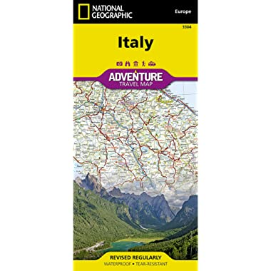 Italy (National Geographic Adventure Map)