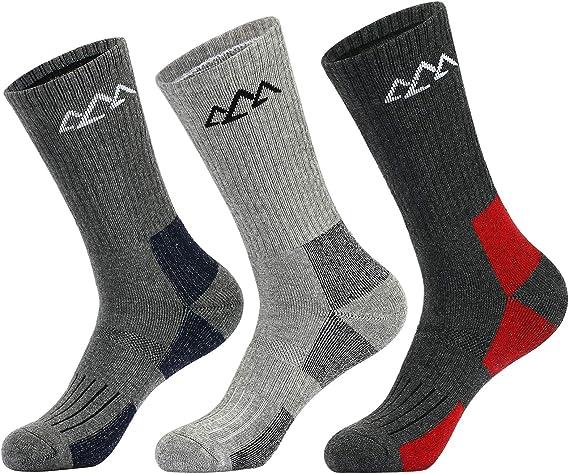 Innotree Full Cushioned Hiking Walking Socks