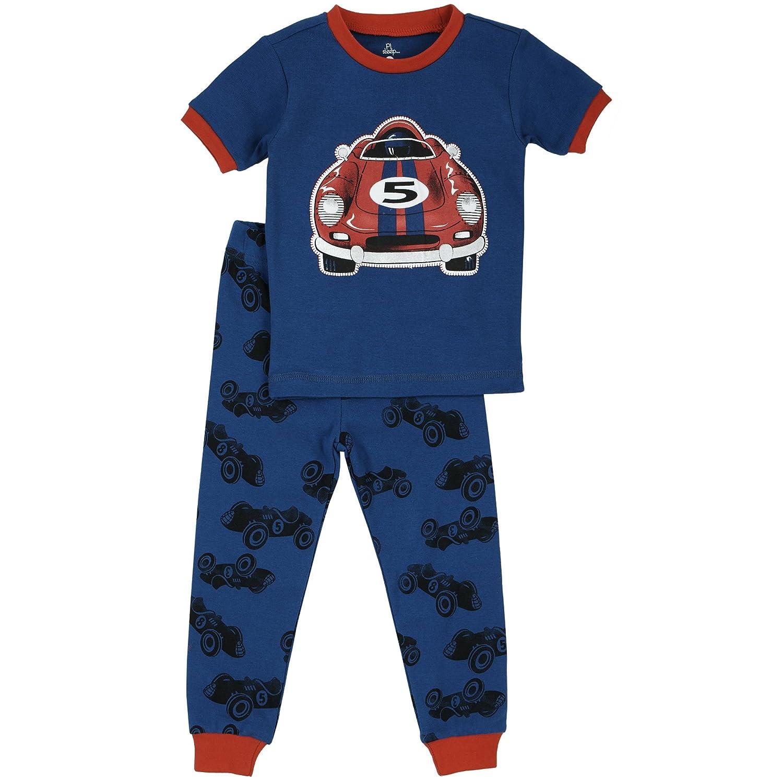 0cc8a70fa3ae Amazon.com  Petit Lem Little Boys  Race Car Pajama  Clothing