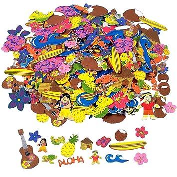 Elfen Und Zwerge 50 X Sticker Aufkleber Hawaii Sommerparty