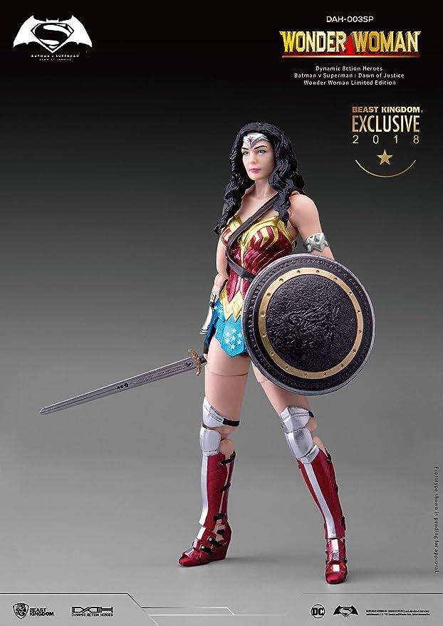 Amazon.com: Beast Kingdom 2018 SDCC Batman v Superman: Dawn of Justice Wonder Woman Limited Edition: Toys & Games