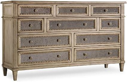 Amazon Com Hooker Furniture Sanctuary Ten Drawer Dresser In Pearl