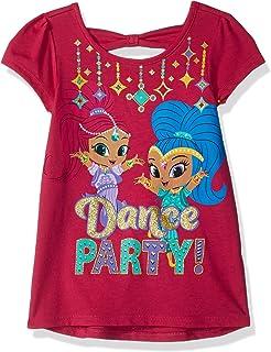 227c8b5242 Amazon.com: Nickelodeon Shimmer and Shine Toddler Little Girls Tee ...