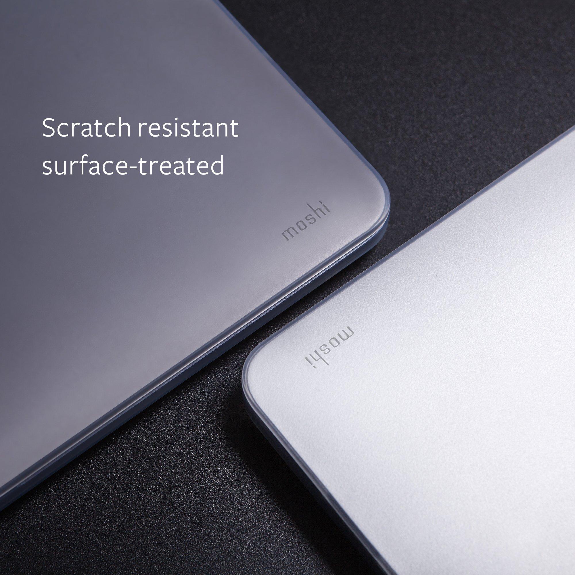 Moshi 99MO071006 iGlaze Hard Case for 2018 New MacBook Pro Retina 15'' & Thunderbolt 3 with Touch Bar, Stealth Black by Moshi (Image #5)