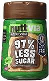 Nuttvia Hazelnut Spread with Sweeteners. Delicious
