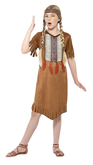 Smiffy s - Disfraz de indio nativo de infantil (Tamaño pequeño ...