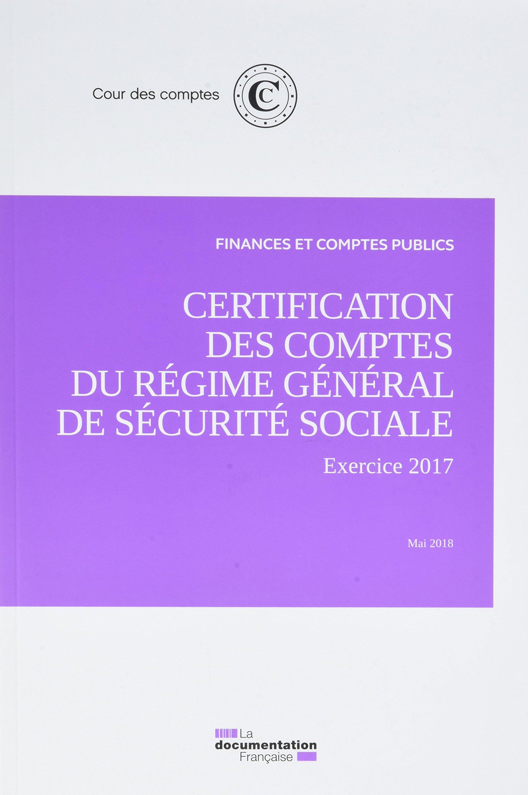 Certification Des Comptes Du Rgime Gnral De Scurit Sociale