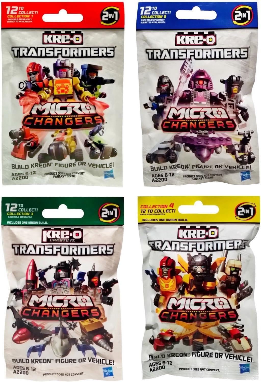 KRE-O Transformers Micro Changers Mystery Blind Bag Figure Vehicle Easter Basket