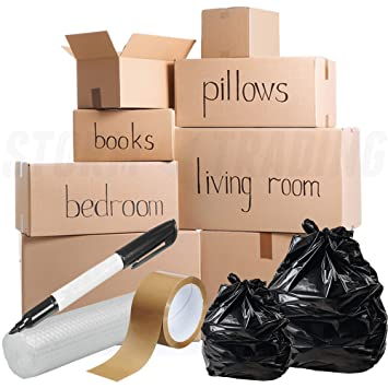 40 Box House Moving Pack For Removals And Storage All You Need For Your Move