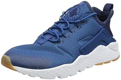 NIKE Women's Air Huarache Run Ultra IndustrailBlue/MidnightNavy Running  Shoe 9 Women US