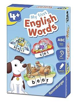 Ravensburger Juego de Aprendizaje, My First English Words 24102: Amazon.es: Juguetes y juegos