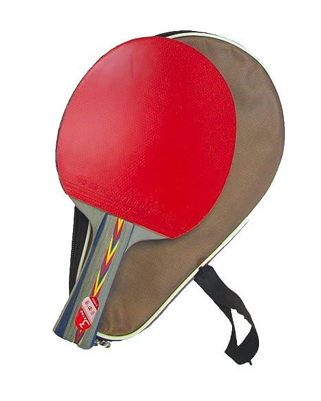 Tenis Paddle: 3 Star – Raqueta de ping pong, mesa, con funda ...