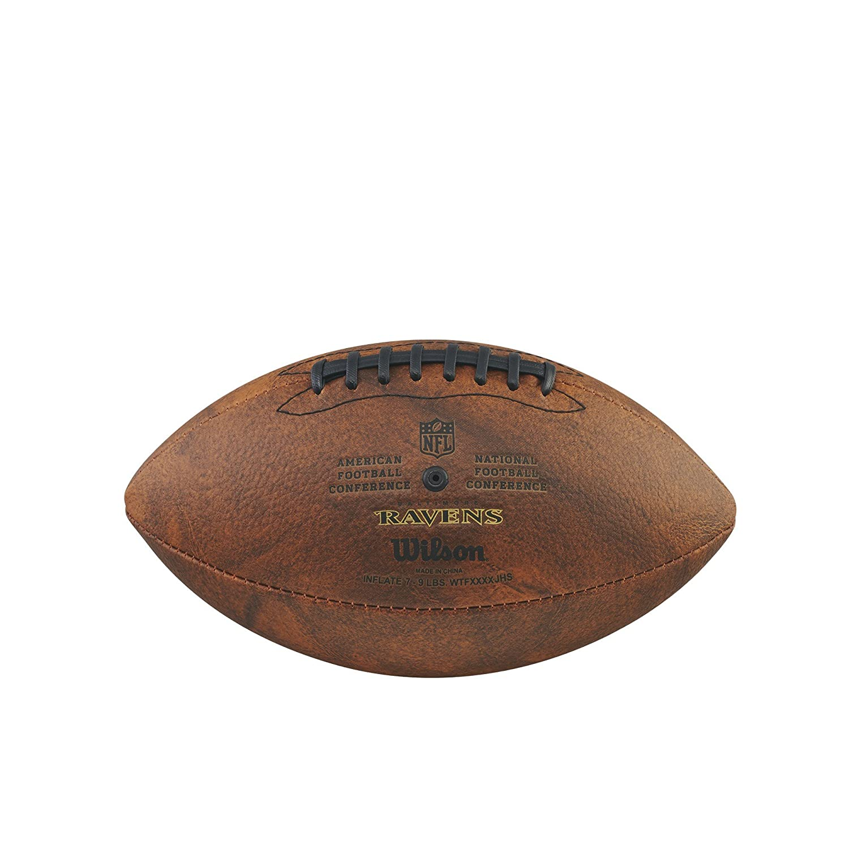 Baltimore Ravens NFL Junior Throwback Team Logo Football