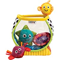 Lamaze My First Plush Baby Learning Fishbowl Toy