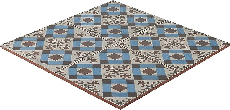 Vintage Retro Floor Tiles Tiles 45x45 Cm Bathroom Wall Tiles Kitchen Fs 4 Amazon Co Uk Diy Tools