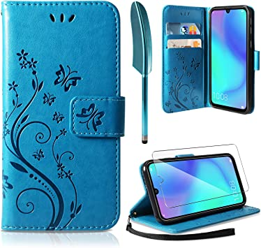 AROYI Funda Huawei P30 Lite, Funda Piel PU Huawei P30 Lite ...