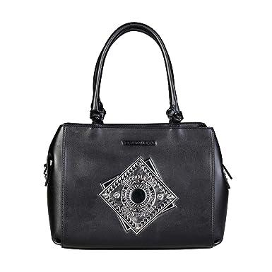 37284a78e35d4 Versace Jeans E1VQBBA6 75425 Damen Handtaschen Leder Schwarz  Amazon ...