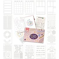 Ultimate Productivity Stencil Set for Dotted Journals - Time Saving Planner Accessories/Supplies Kit Makes Creating…
