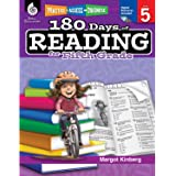 180 Days of Reading for 5th Grade, Fifth Grade Workbook that Improves Reading Comprehension and Helps Kids Read with Confidence with Fun Daily Phonics Practice