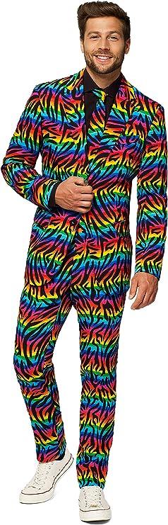 Men's Vintage Style Suits, Classic Suits Opposuits Mens Party Costume Suits $89.99 AT vintagedancer.com