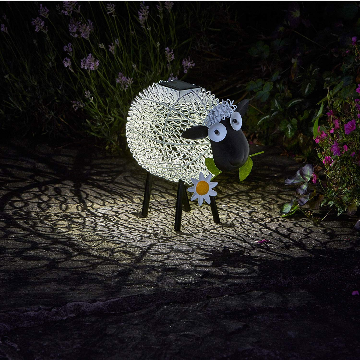 Smart Garden Solar Dolly The Sheep Silhouette Light Garden Light Figure Ornament SPVINP26928