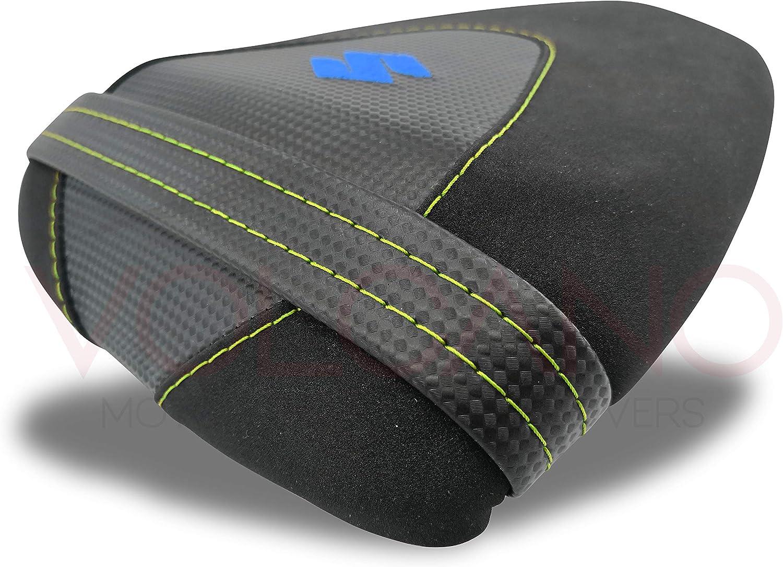 personnalisable CUCITURE BLU ROYAL S022C Housse de selle Seat Cover en n/éopr/ène antid/érapant pour GSX S 750 2017-2019