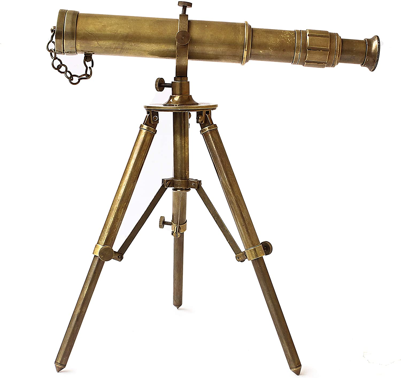 Vintage Brass Telescope With Mini Tripod Victorian Telescope Lot Of 20 Pieces