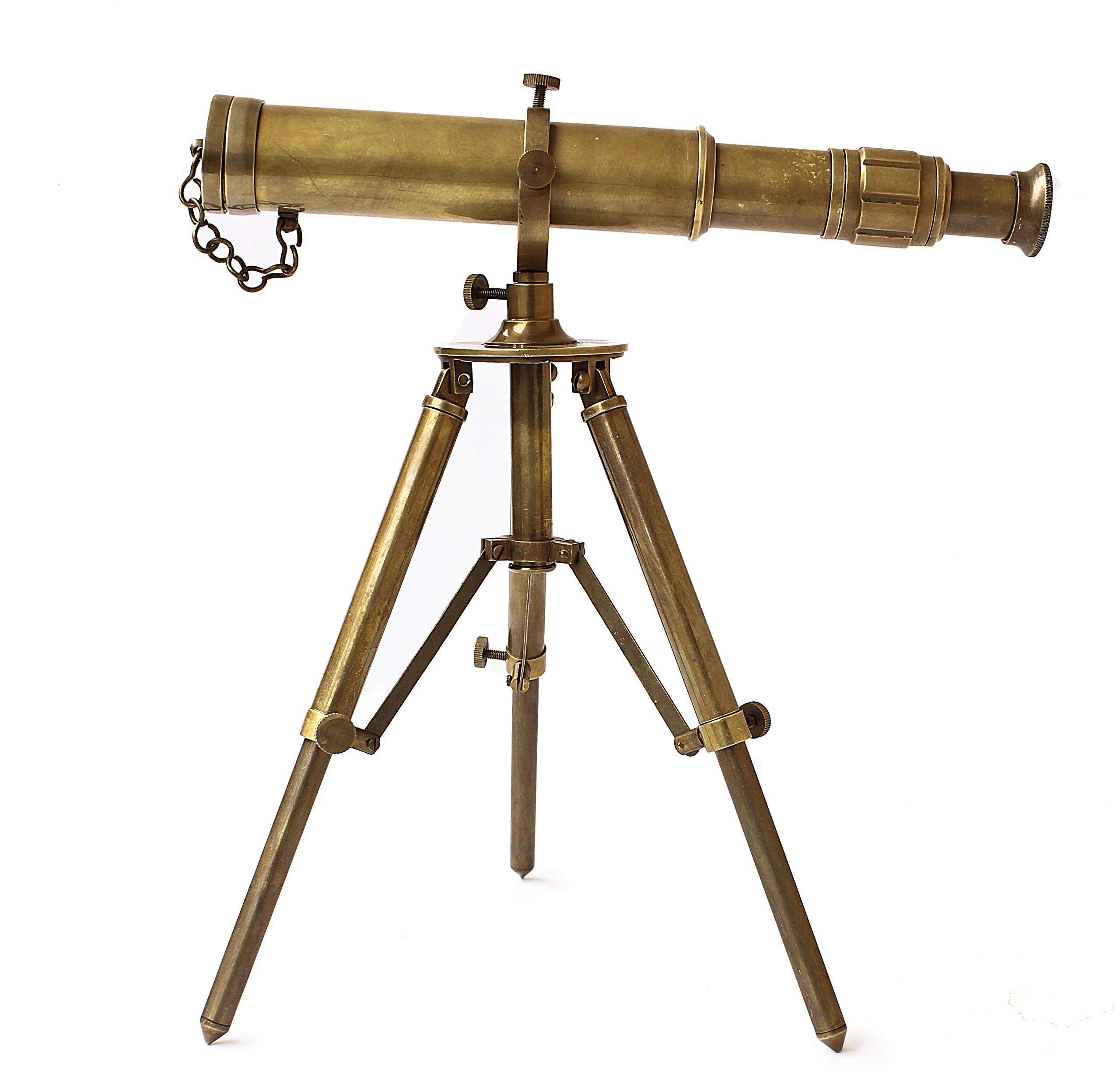 Collectibles Buy Vintage Table Decorative Brass Telescope with Tripod Maritime Ship Instrument Marine Gifts Item by Collectibles Buy